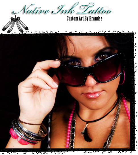 Brandee Gordon of Native Ink